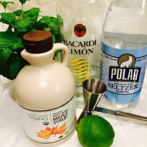 Maple Citrus Mojito Ingredients